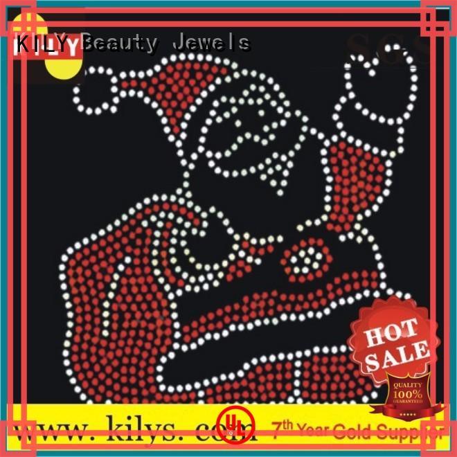 KILY online rhinestone transfers series for Christmas